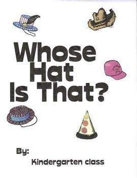 Winter Hat Class Book