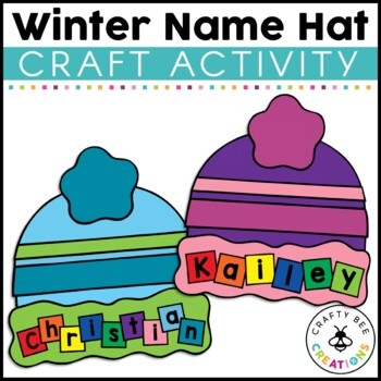 Winter Hat Cut and Paste