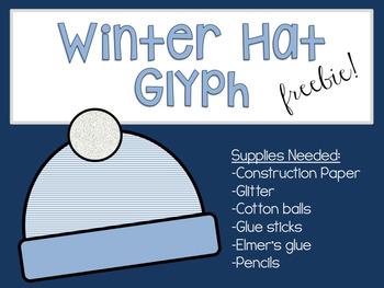 Winter Hat Glyph Freebie