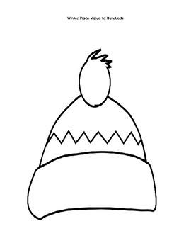 Winter Hat Place Value
