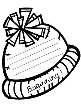 Winter Hat Retelling/Summarizing Organizer
