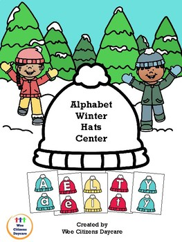 Winter Hats Alphabet Letter Tracing
