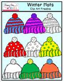 Winter Hats: Clip Art FREEBIE