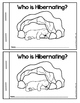 Winter Hibernation Non-Fiction Emergent Reader