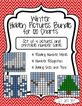 Winter Hidden Picture Bundle {120 Charts}