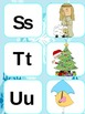 Winter Holiday ABC and initial sound match K-1