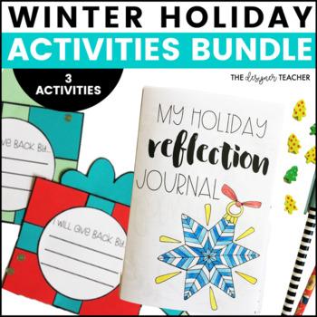 Winter Holiday Activities BUNDLE
