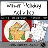 Winter Holiday Activities: Speech and Language