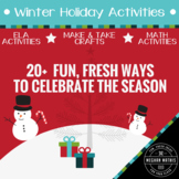 Winter Holiday Activity Pack - 20+ Fun Ways to Celebrate t