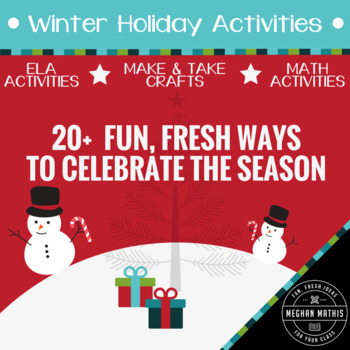 Winter Holiday Activity Pack - 20+ Fun Ways to Celebrate the Season