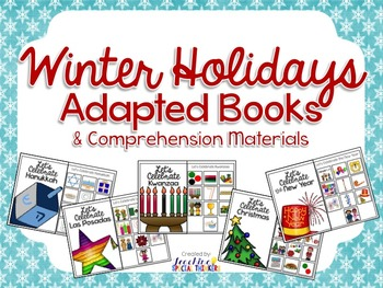 Winter Holiday Adapted Books (Hanukkah,Las Posadas,Kwanzaa