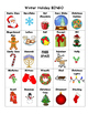 Winter Holiday BINGO