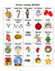 Winter Holiday BINGO: 30 Cards!