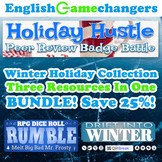 Winter Holiday BUNDLE: Reverse Escape Room, Essay Writing,