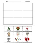Winter Holiday Bingo - Game Board and Calling Cards – Ready to print and play!