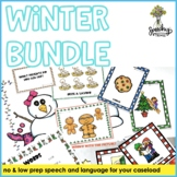 Winter Holiday Bundle : Speech and Language Therapy Activities