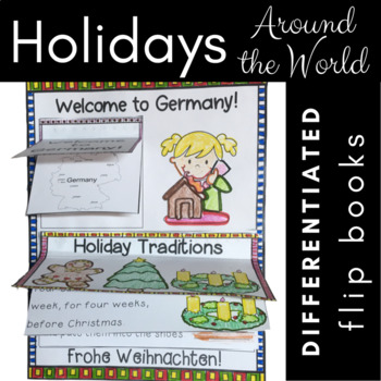 Winter Holiday Celebrations Around the World {Reading Lift-the-Flap Journal}
