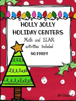 Winter Holiday Center Activities