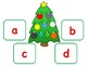 Winter Holiday:  Christmas Alphabet Match; Autism; KDG; Pre-k; Special Education
