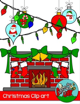 Christmas Winter Holiday Clip art and Borders