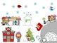 Winter - Holiday - Christmas WH Questions and Spacial Concepts Activity