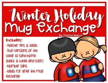 Winter Holiday Classroom Mug Exchange