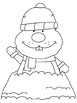 Winter/Holiday Coloring Pages