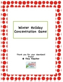 Winter Holiday Concentration