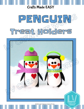 Penguin Winter Craft for January