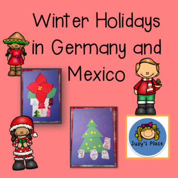Christmas Around the World/Holiday Craftivities and Comprehension Activities