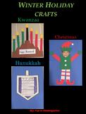 Christmas, Hanukkah and Kwanzaa Crafts Bundle