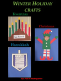 Christmas, Hanukkah and Kwanzaa Crafts Bundle