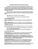 Winter Holiday Creative Writing Layered Curriculum Project