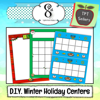 Winter Holiday DIY Learning Centers