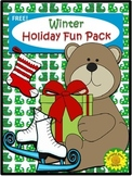 Winter Holiday Fun Pack (Freebie)