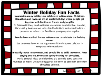 Winter Holiday Fun for Newcomers!