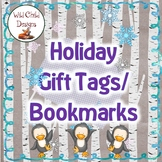 Winter Holiday Gift Tags or Bookmarks