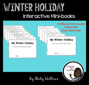 Winter Holiday Interactive Mini-books