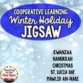 Winter Holiday Jigsaw Method Activity