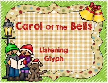 Winter/Holiday Listening Glyph:  Carol Of The Bells (PDF)