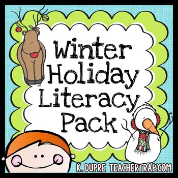 Winter Holiday Literacy Pack