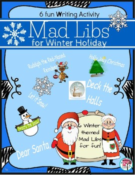 Winter Holiday Mad Libs