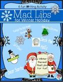 Winter Holiday Mad Libs