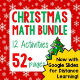 Christmas Math Winter Holiday Bundle - 12 Activities!