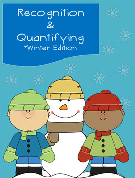 Winter/Holiday Math (Recognition & Quantifying Numbers)