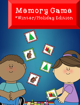 Winter/Holiday Memory Match Game