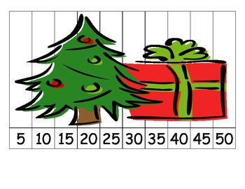 Winter Holiday Number Puzzles
