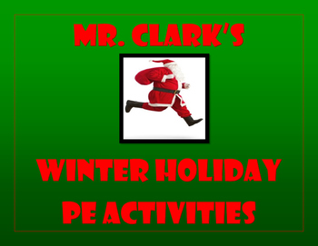 Winter Holiday PE Activities