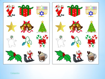 Winter Holiday PE Cards