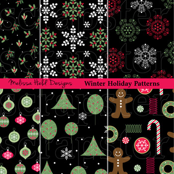 Winter Holiday Patterns
